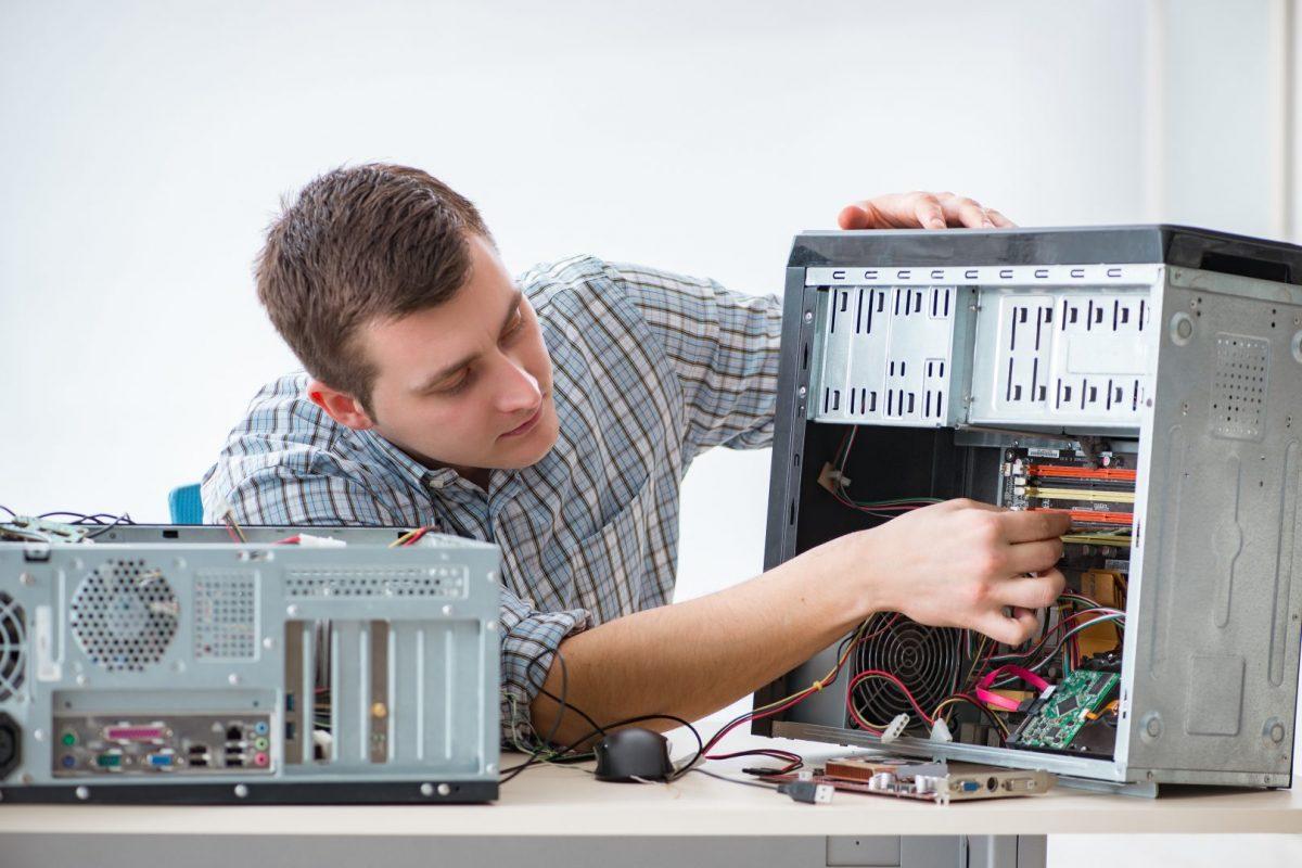 DIY computer tech for computer repair job